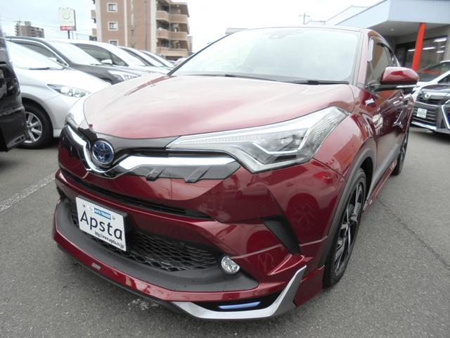 トヨタ G モデリスタエアロ 本革シート 9型ナビTV 1オナ