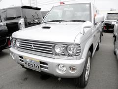 パジェロミニリンクスV4WD 5速マニュアル 純正アルミ MDチューナー