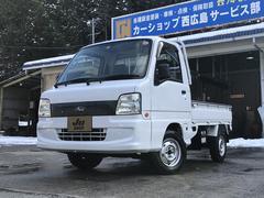 サンバートラックTB 4WD エアコン パワステ 5MT 3方開