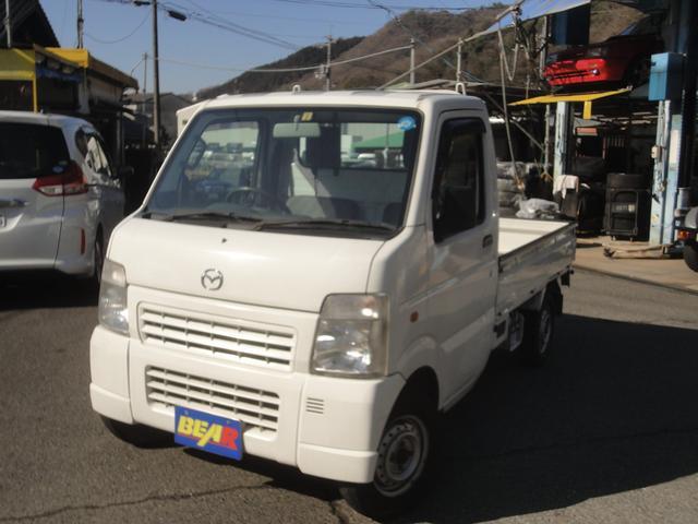 マツダ 4WD 5速MT 三方開 エアコン パワステ
