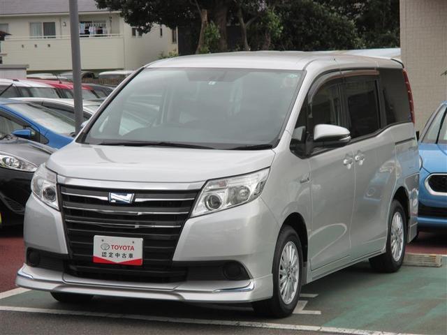 トヨタ ハイブリッドX 電動スライドドア エアロ LEDヘッドランプ スマートキー 3列シート