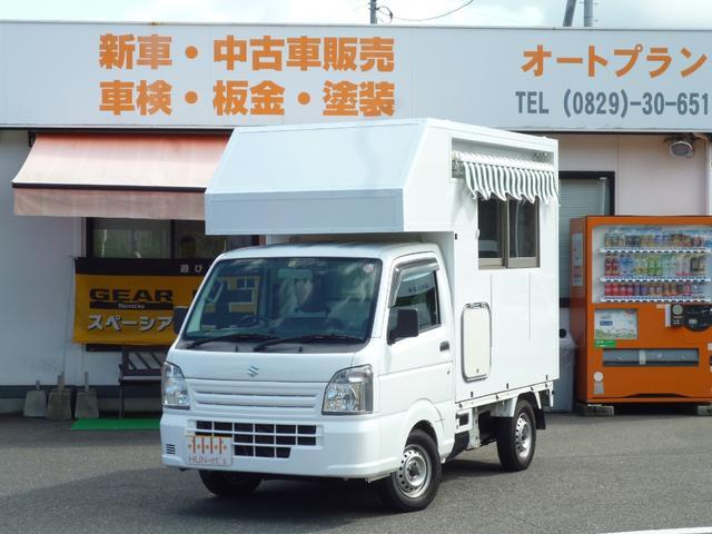 スズキ KCエアコン・パワステ4WD HDDナビETC