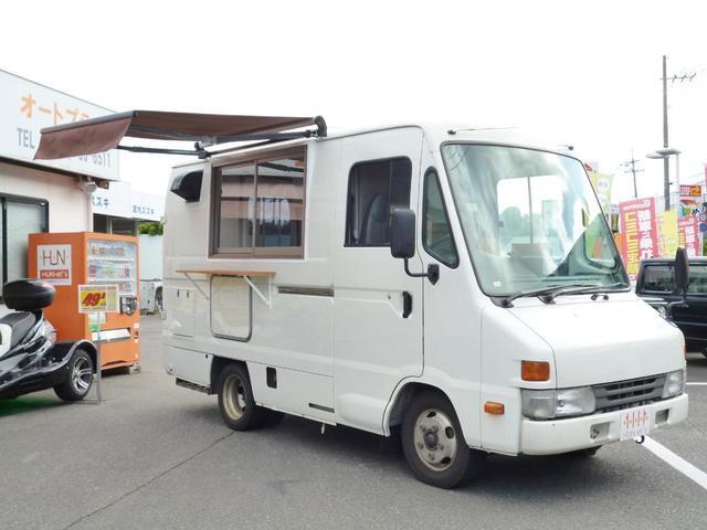 トヨタ ディーゼルハイブリット 移動販売車 加工車