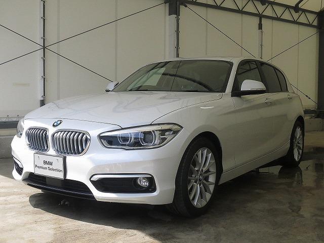 BMW 118i ファッショニスタ ベージュレザーシート