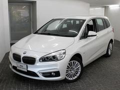 BMW218dグランツアラー ラグジュアリー ACC HUD 黒革