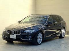 BMW523dツーリング MスポーツACC黒革18AW車線逸脱