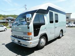 エルフトラック不明 事務室車 ディーゼル 9人 普通免許OK 2年車検