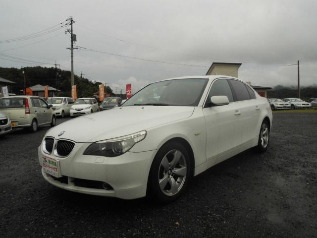 BMW 525i  黒革 SR ナビ ETC キーレス
