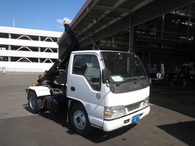 いすゞ 2t 新明和アームロール車 ETC 5速 運転席エアバッグ