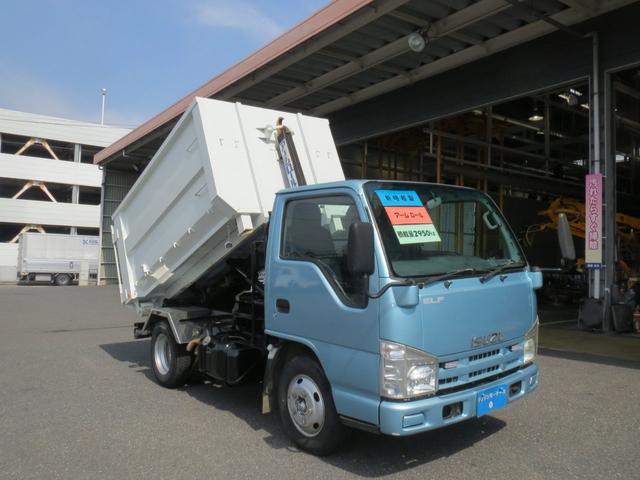いすゞ  3t 新明和製アームロール