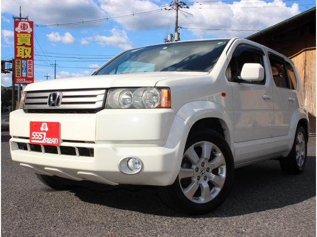 ホンダ クロスロード 18L Xパッケージ 2WD 7人乗り 17インチアルミ フォグランプ CDMD AUX ETC オートエアコン キーレス