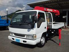 アトラストラック3.5t ワイド ロング 3段クレーン ラジコン付