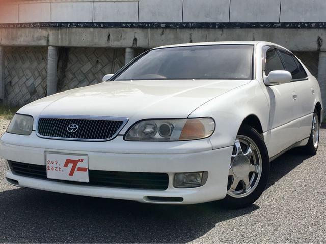 トヨタ 3.0Vリミテッド 革シート ETC HDDナビ クルコン