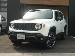 クライスラージープ レネゲードトレイルホーク 弊社デモカー 新車保証継承 純正ナビ ETC