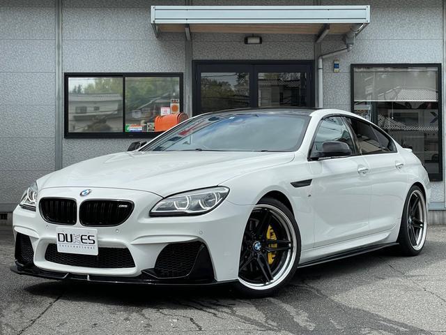 BMW 640iグランクーペ Mスポーツパッケージ WALDフロントエアロ 3Dデザインマフラー/ディフューザーACC カーボンサイドスカート エナジー21インチAWサンルーフBカメラ シュニッツァートランクスポイラー