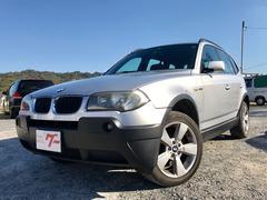 BMW X32.5i 4WD ETC キーレス CD AW18インチ