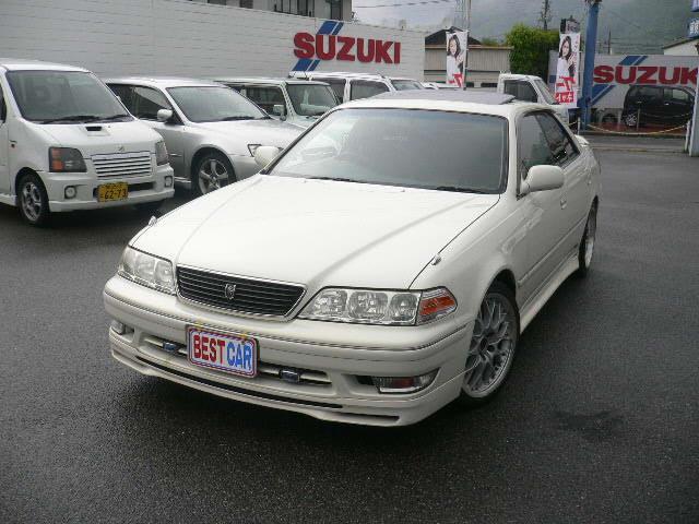 トヨタ ツアラーV 純正5速 サンルーフ HDDナビ 車高調