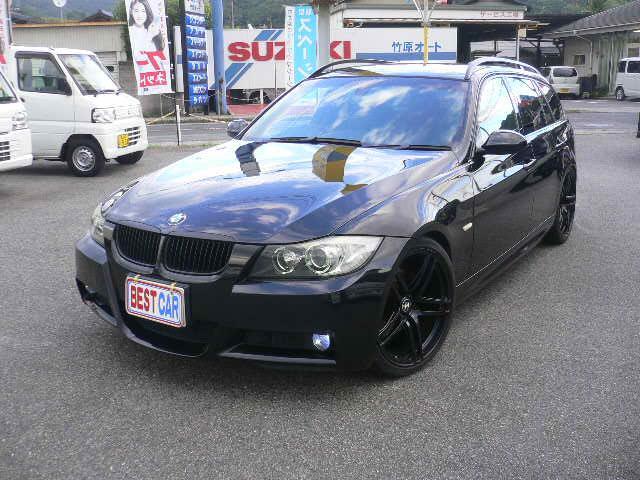 BMW 325iツーリング MスポーツHDDナビTV 外マフラー