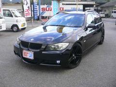 BMW325iツーリング MスポーツHDDナビTV 外マフラー