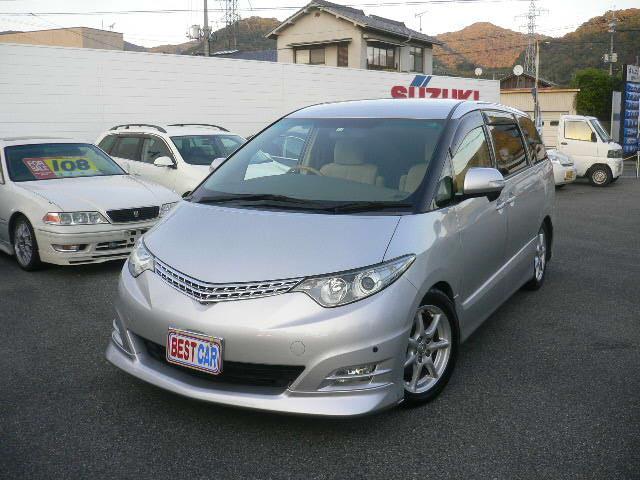 トヨタ 2.4アエラスGエディション 車高調 フリップダウンモニター