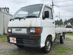 ハイゼットトラック4WD マニュアル5速 軽トラック 2人乗り 三方開