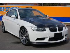 BMWM3Mドライブ カーボンボンネット 白革シート エアロ