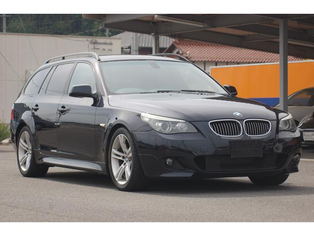 BMW 5シリーズ 525iツーリング Mスポーツパッケージ 純正ナビ ハーフレザー ETC 最終モデル