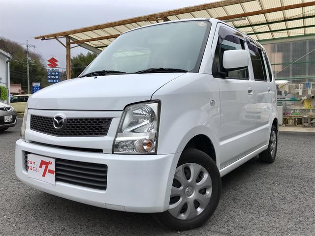 マツダ AZワゴン FA 軽自動車 4WD スペリアホワイト AT AC