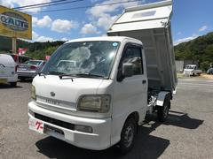 ハイゼットトラックダンプ 強化 4WD エアコン 5MT 軽トラック 2名乗り