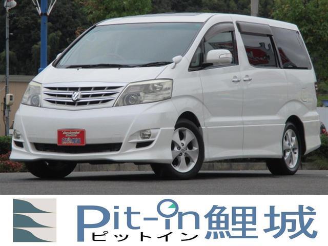 トヨタ AS プラチナセレクションII Wサンルーフ 両側Pスライド