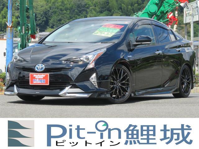 トヨタ S モデリスタエアロ 純正ナビ フルセグ 18インチアルミ 車高調
