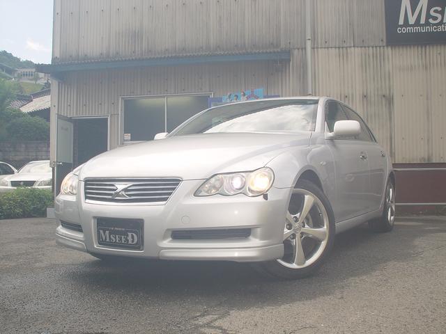 トヨタ 250G Sパッケージ HID DVDナビ バックカメラ