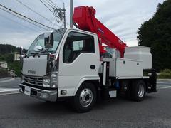 エルフトラック高所作業車 アイチ製 SH12A 12m