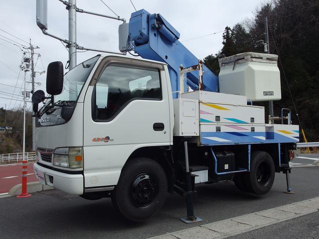 いすゞ  高所作業車 タダノ製 AT-110 11m 125kgバケット 電工仕様