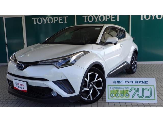 トヨタ C-HR HV G SDナビ TV バックカメラ ETC クルコン