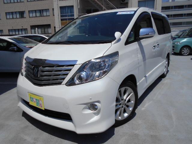 トヨタ 240S ナビTV 後席モニタ- 保温保冷ボックス