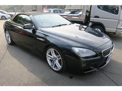 BMW640iカブリオレ Mスポーツパッケージ 本革 HDDナビ