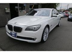 BMW750Li 黒革シート ナイトビュー純正オプション21インチ