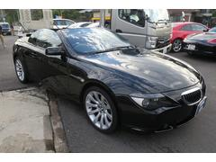 BMW650iカブリオレ 電動オープン 赤革シート