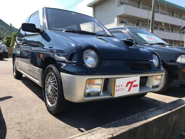 スズキ RS/X 軽自動車 フロア5MT ターボ エアコン