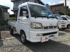 ハイゼットトラックジャンボ 4WD エアコン 5MT 軽トラック ナビ TV