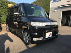 タントカスタムX TV ナビ 軽自動車 ブラックマイカ AT AC
