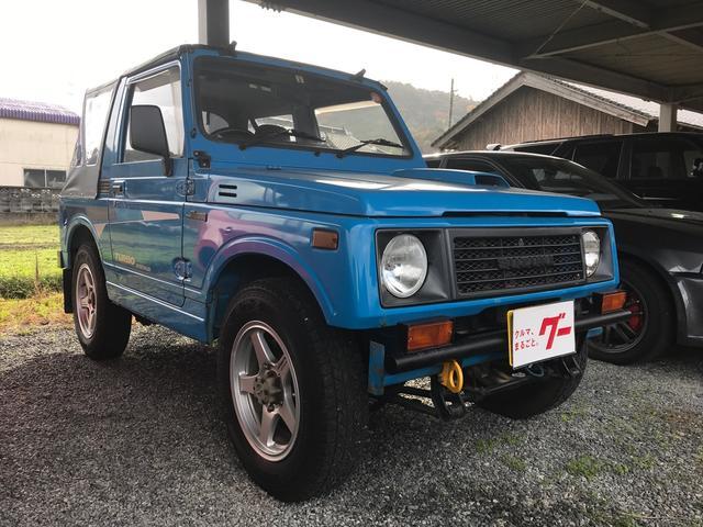 スズキ CC 幌 4WD ライトコンペティションブルー MT ターボ