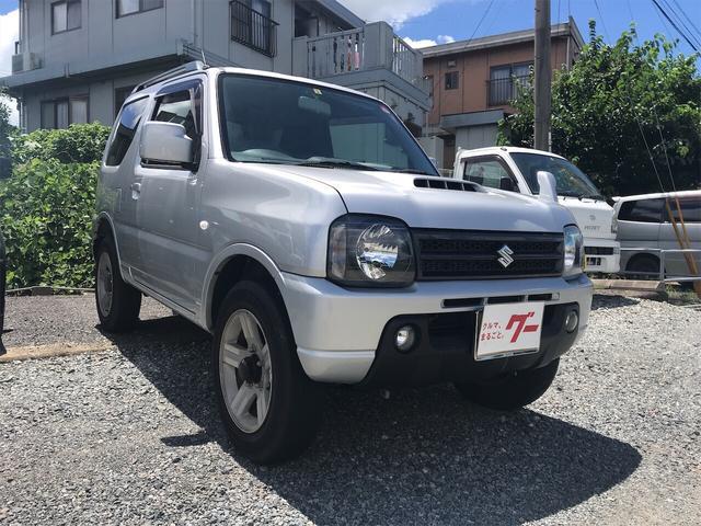 スズキ XC ナビ ワンセグTV 4WD ターボ シルバー 5MT