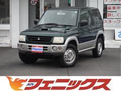パジェロミニV 4WD インタークーラーターボ キーレス CDオーディオ
