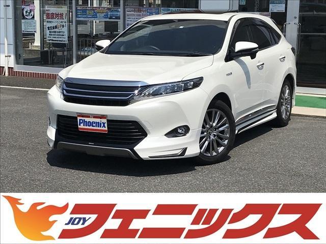トヨタ プレミアム4WDモデリスタエアロSルーフ9インチナビTV
