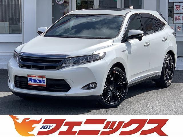 トヨタ プレミアム4WDトヨタセーフティーセンス電動ムーンルーフ