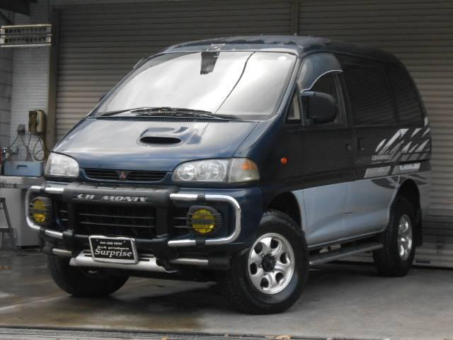 三菱 シャモニー 4WD ディーゼルターボ ETC 7人乗り