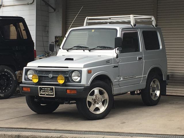 スズキ ランドベンチャー 4WD AT ルーフキャリア