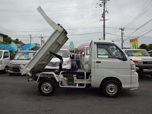 ダイハツ ミニダンプ PTO 4WD エアコン パワステ